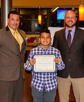 Willow Grove Student of the Month - October 2019 - Bradley Morales Varela