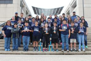 Pictured are Mission Jr. High School Science and Calculator teams.