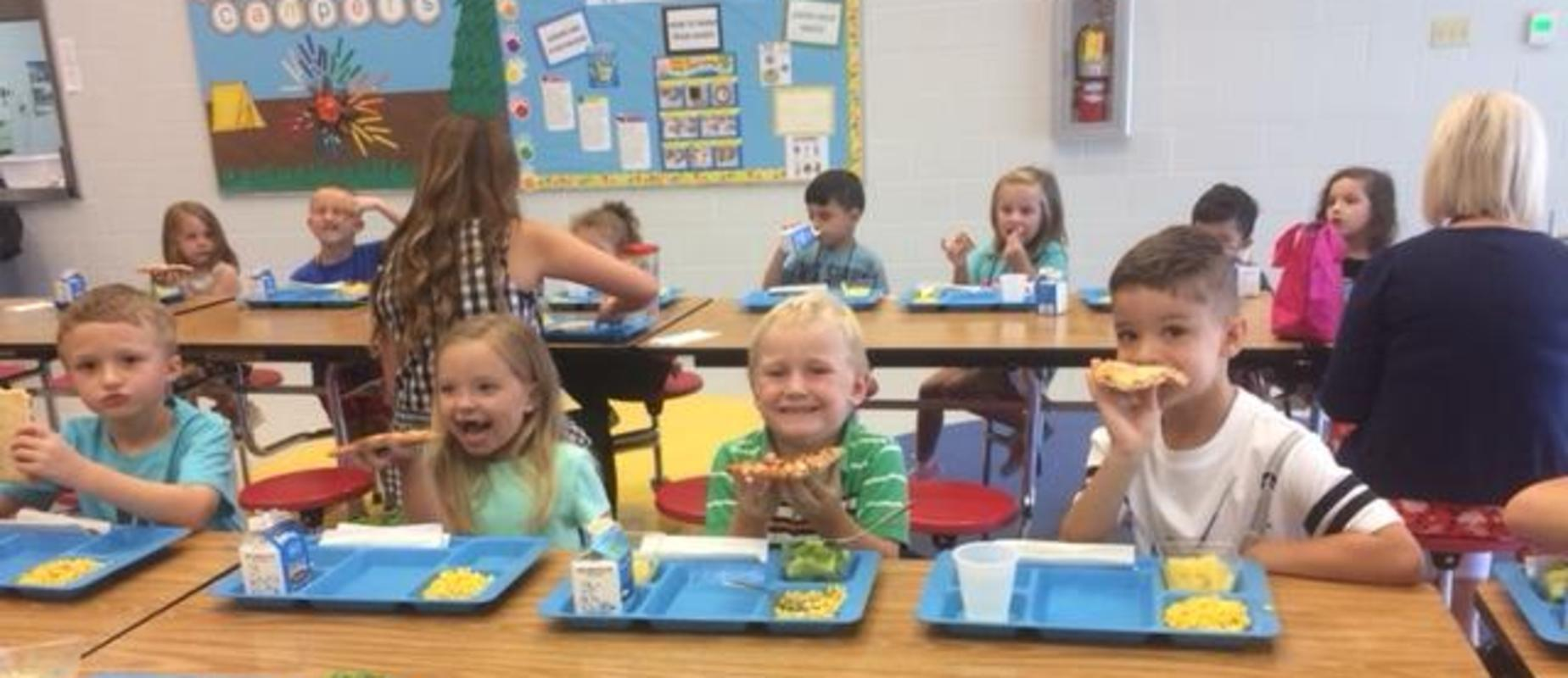 1st Day of School-Lunch