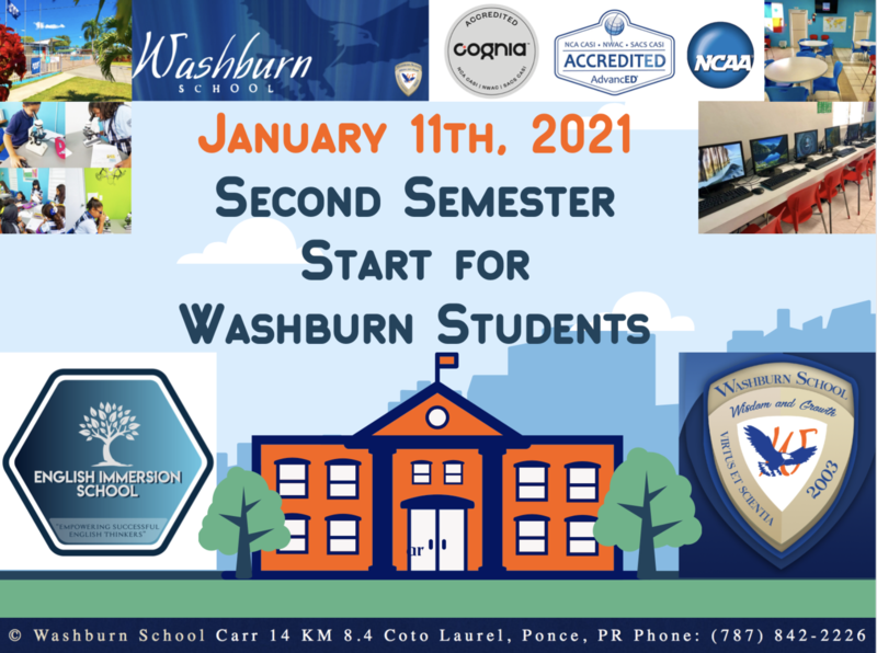 First Day of School 2021 - Second Semester Featured Photo