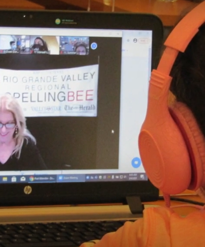 District Spelling Bee Champions Compete In Regional Competition