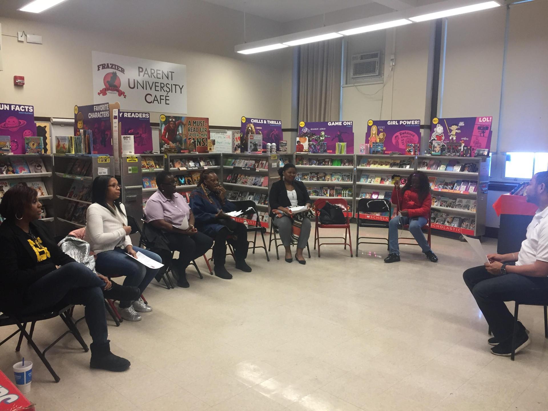 Feb. Parent Cafe Meeting
