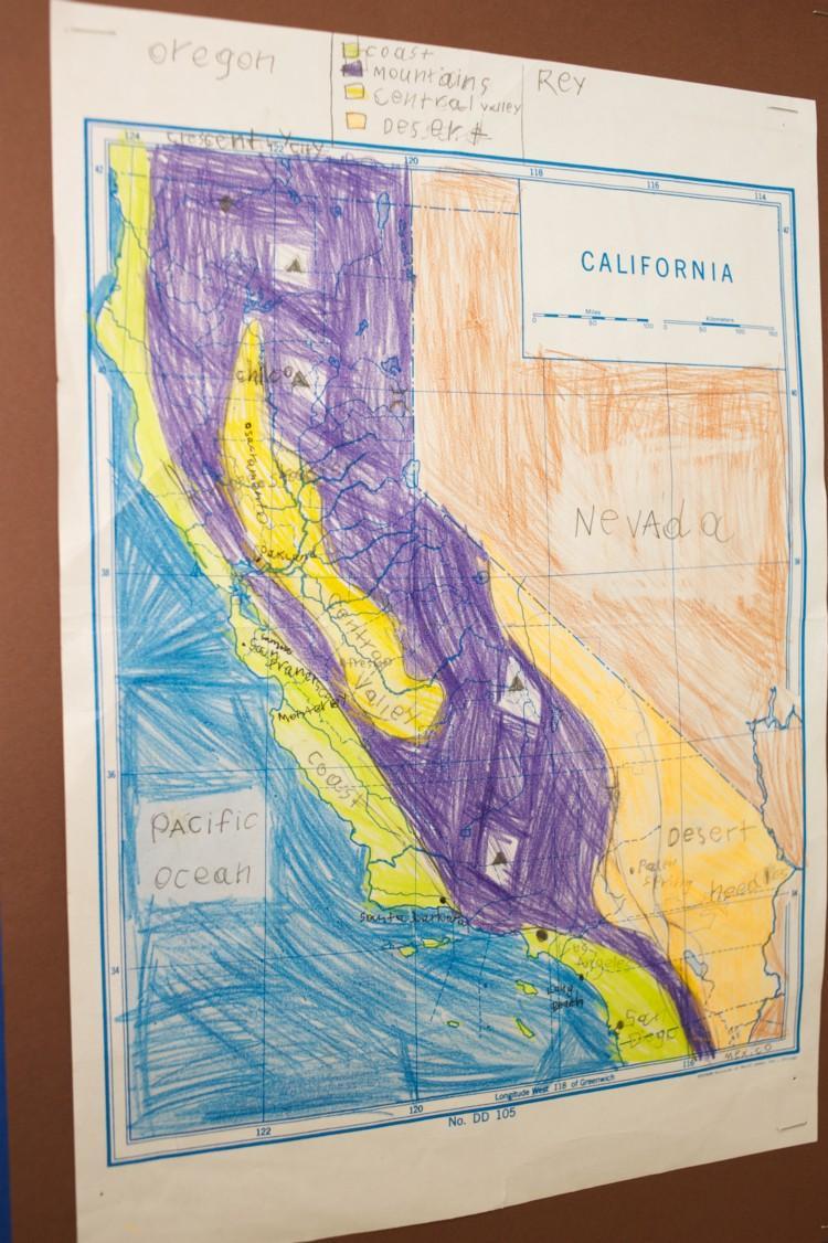 California artwork by Garfield student