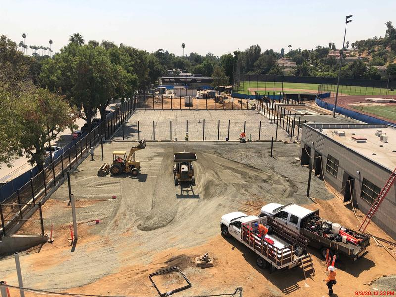 SPUSD Community Newsletter - SPHS Athletics Project - September 2020 Featured Photo