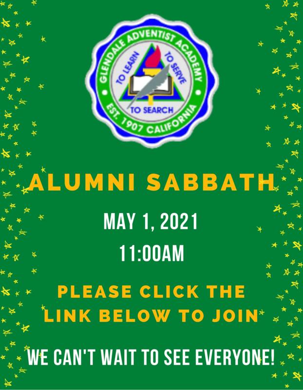 Alumni Sabbath Featured Photo