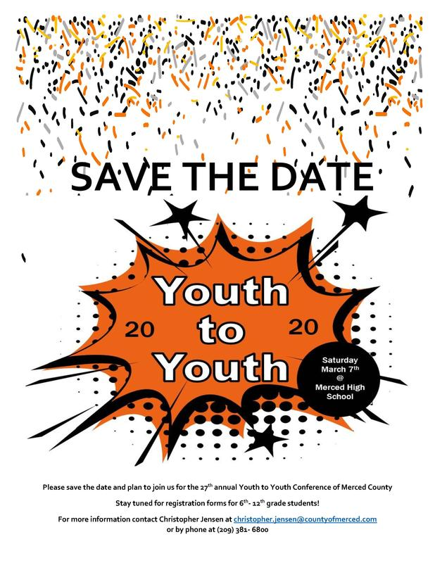 Youth to Youth flyer logo