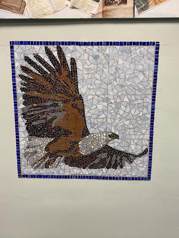 Mosiac eagle