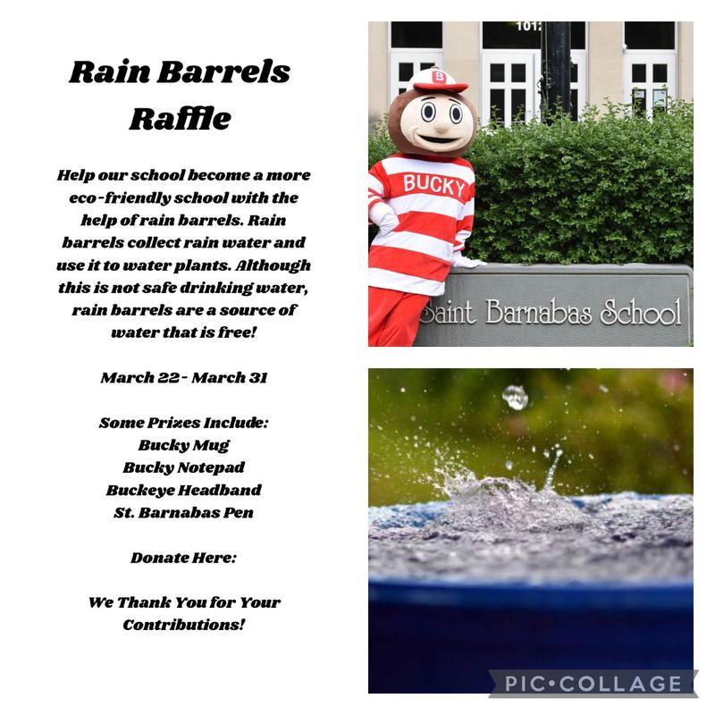 Student Council Rain Barrel Raffle Featured Photo