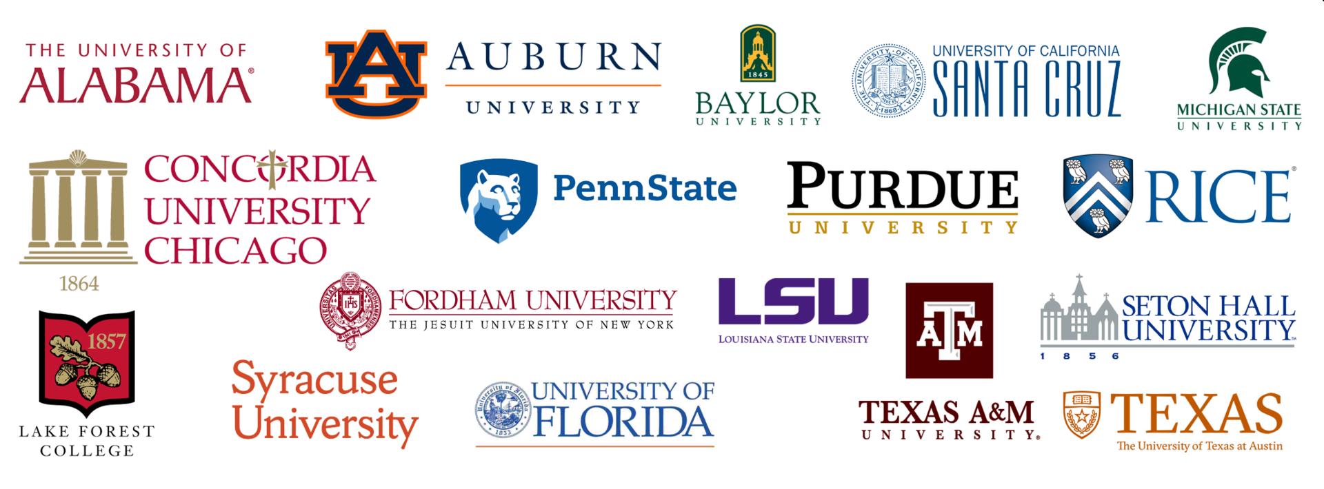 college logos