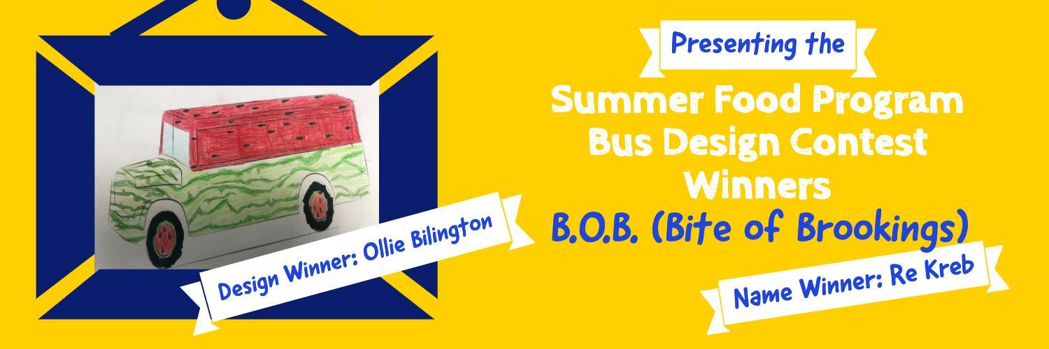Bus design and name contest winners