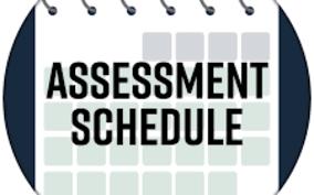 Assessment Schedule
