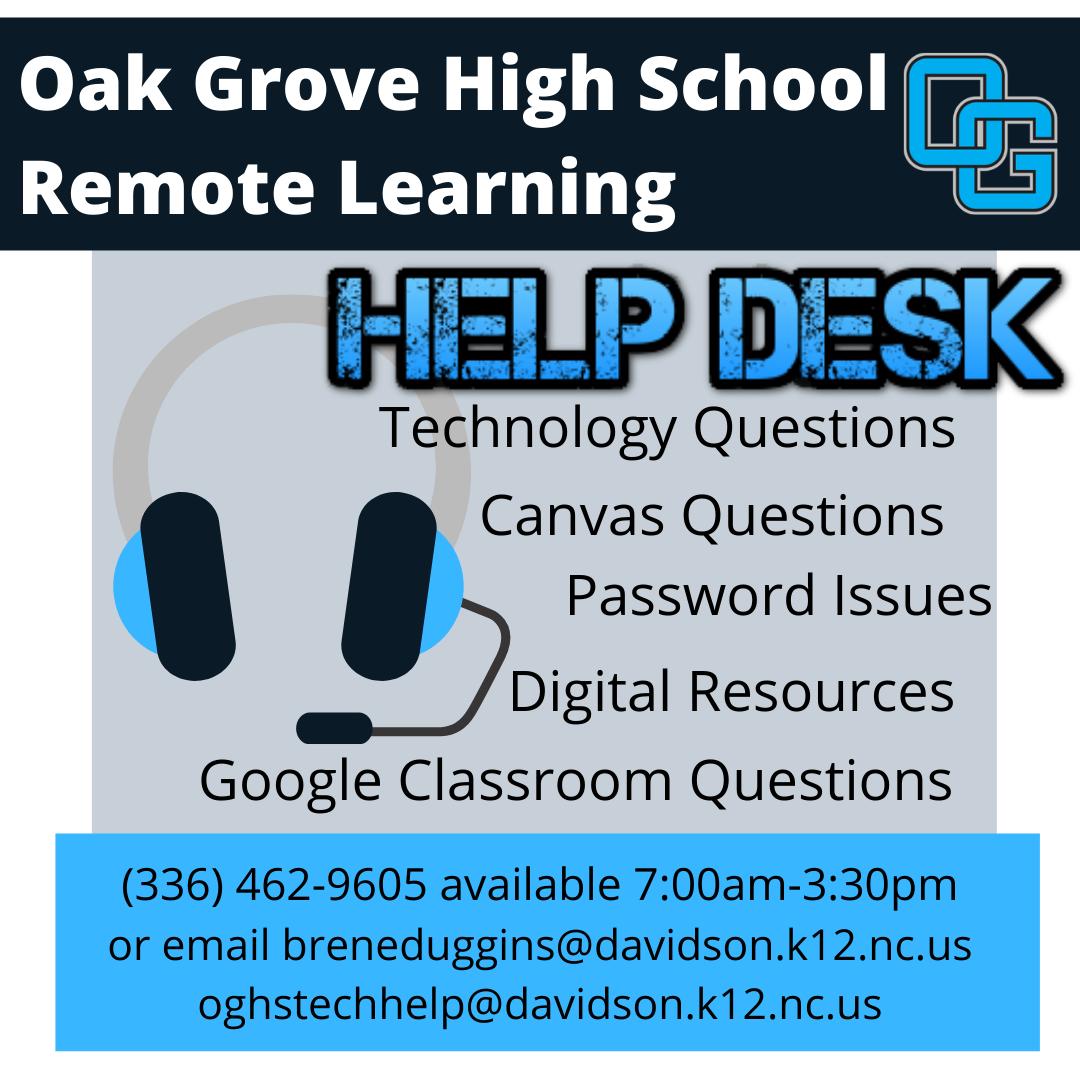 OGHS Help Desk