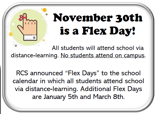 Flex Day - November 30th Thumbnail Image
