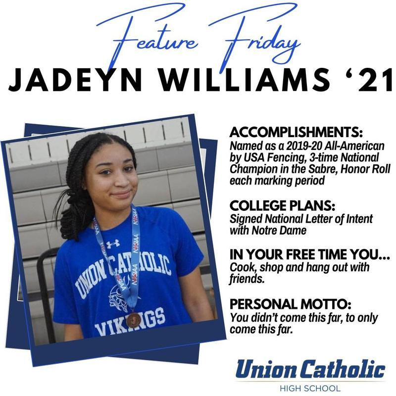 UC Fencing Star Jadeyn Williams Signs Her NLI with Notre Dame Thumbnail Image