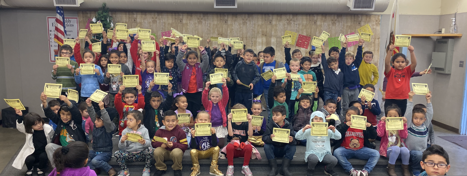 Students celebrate perfect attendance