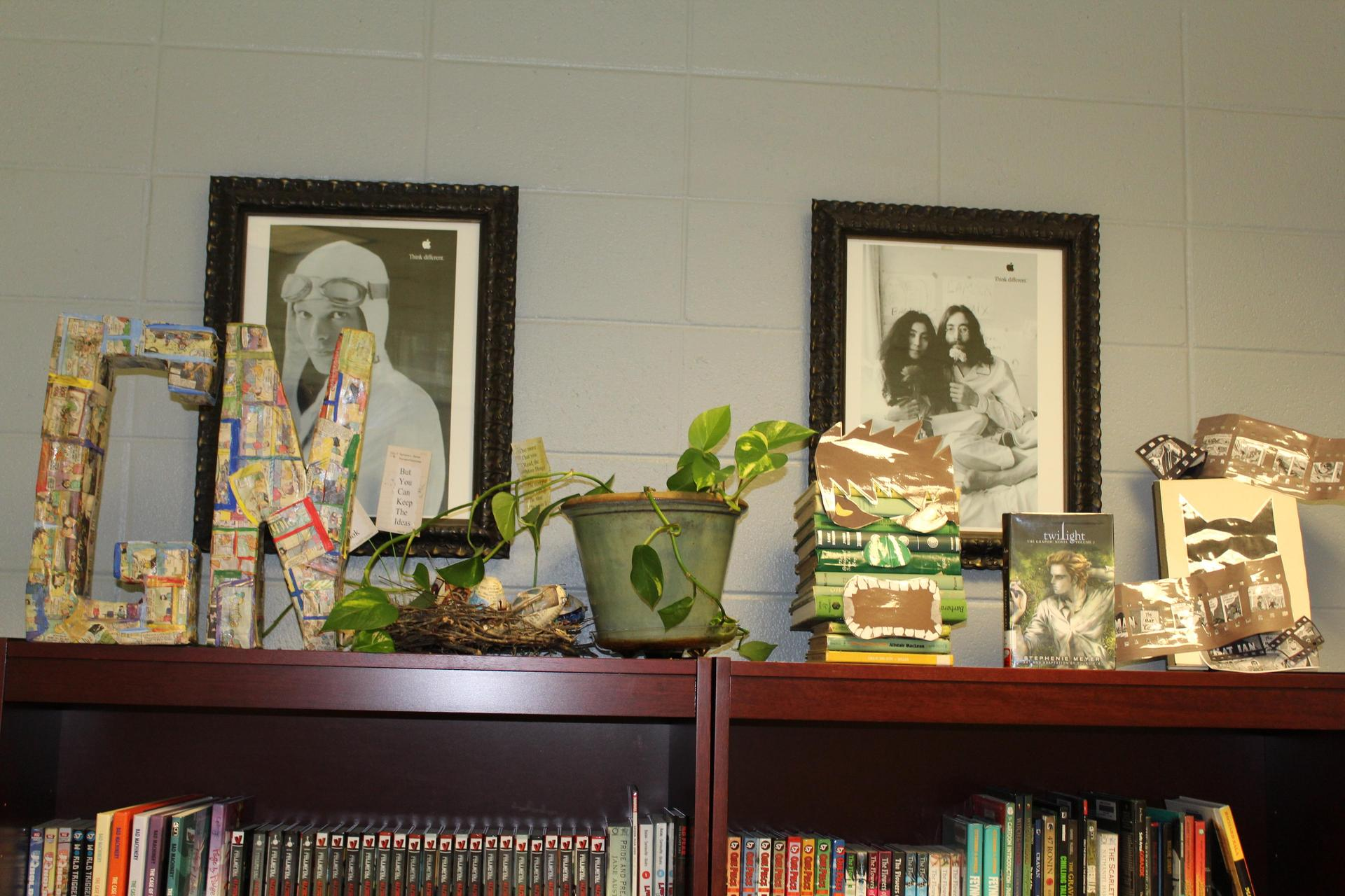 GHS Library Display