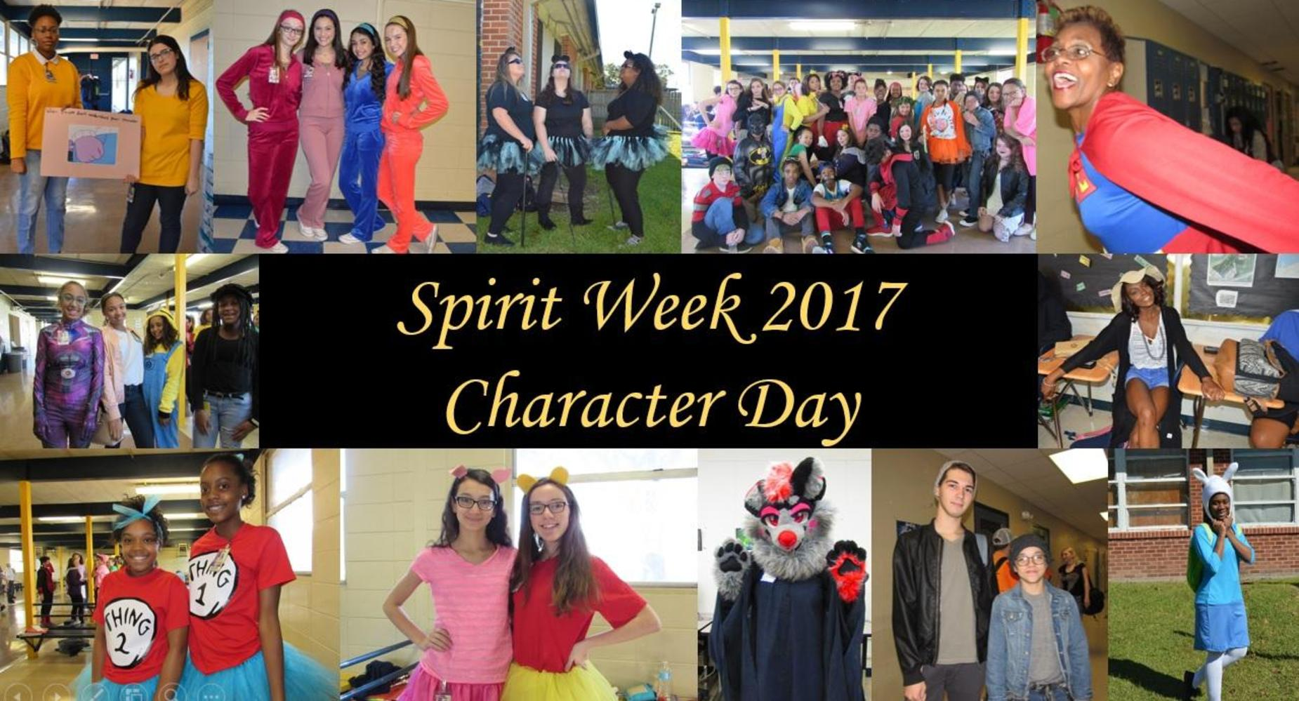Spirit Week - Character