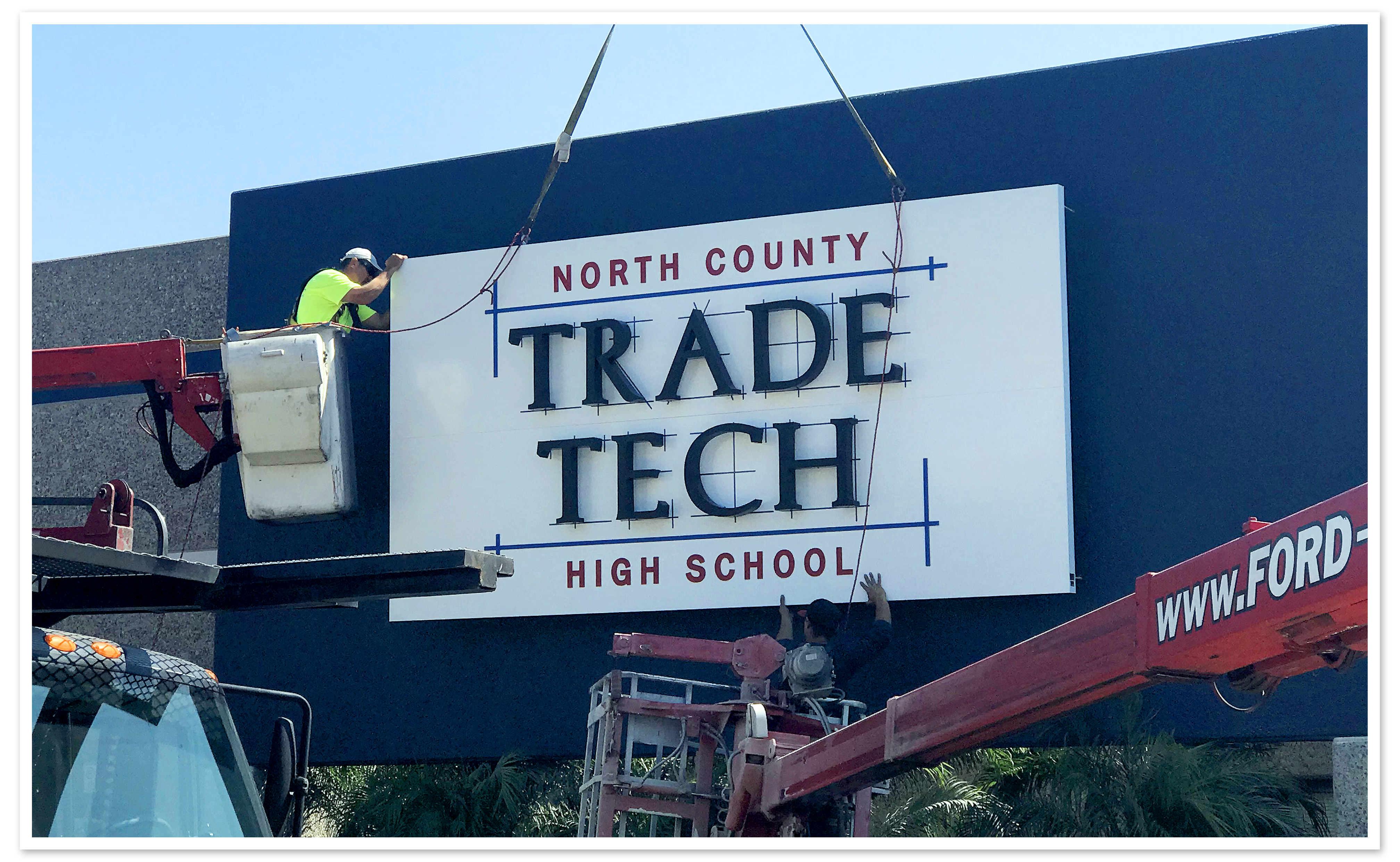 Trade Tech high school new campus