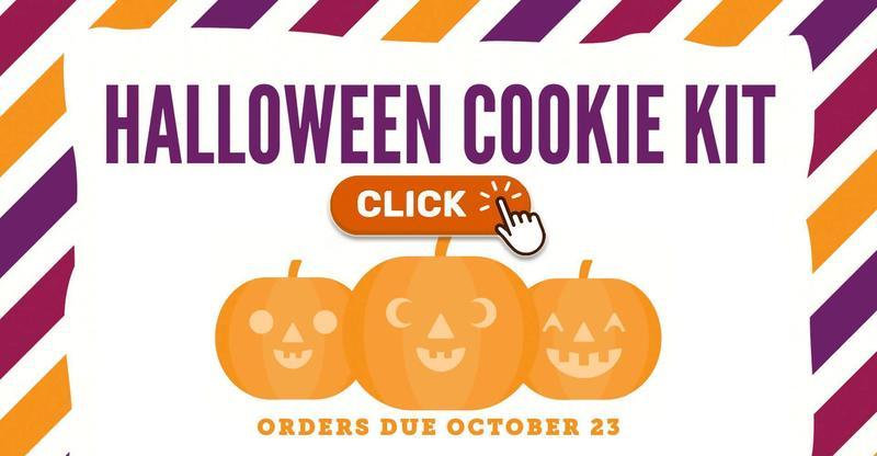 Halloween Cookie Kits (Orders Due October 23)