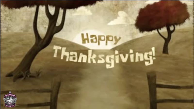 Happy Thanksgiving from AES