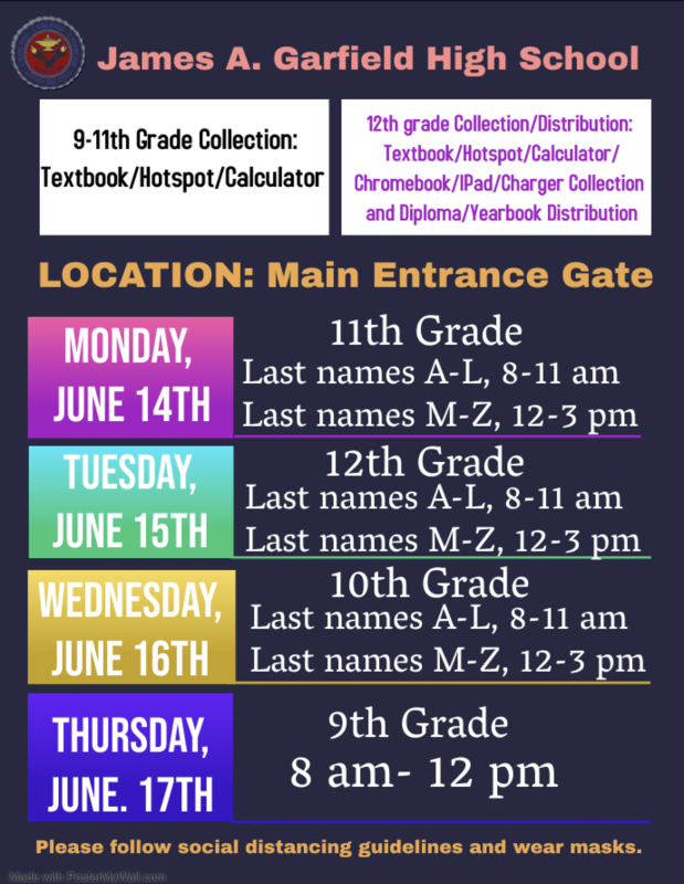 STUDENT COLLECTIONS AND SENIOR DISTRIBUTIONS