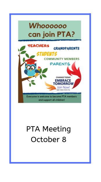 PTA image with meeting date