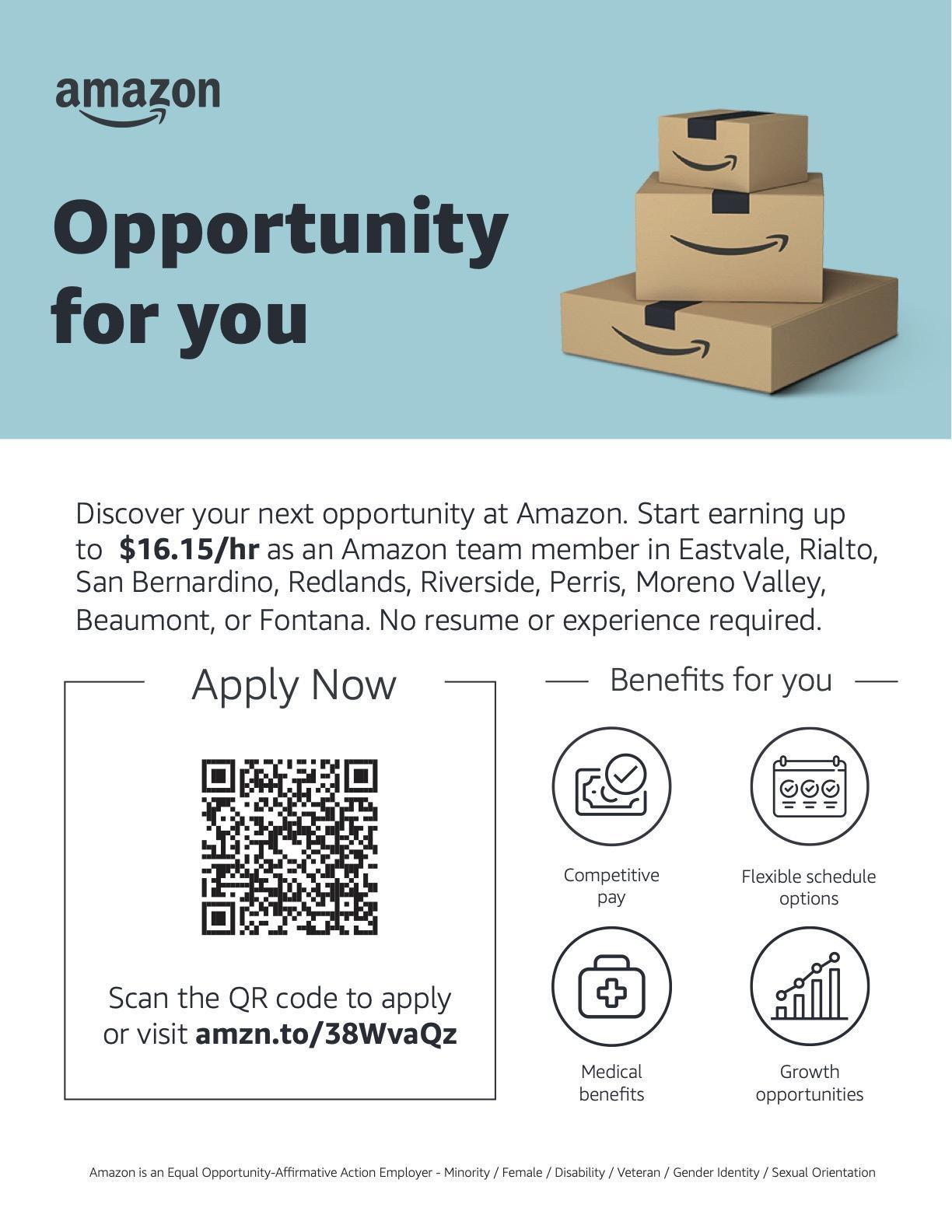 Amazon job posting
