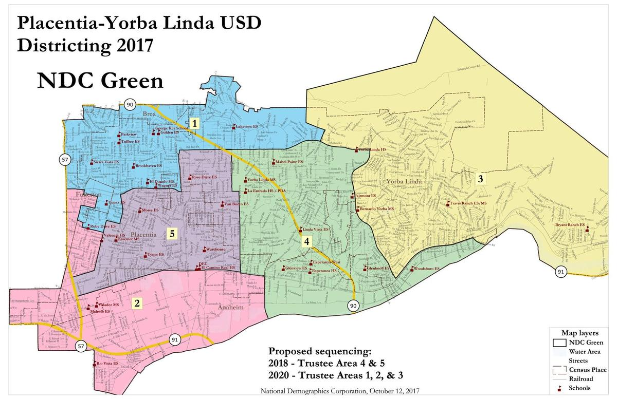 Green Map for PYLUSD.