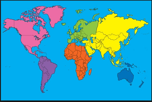 Continets of the world