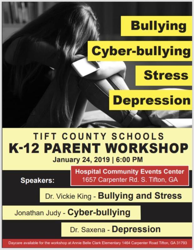 Tift County Schools K-12 Parent Workshop Featured Photo