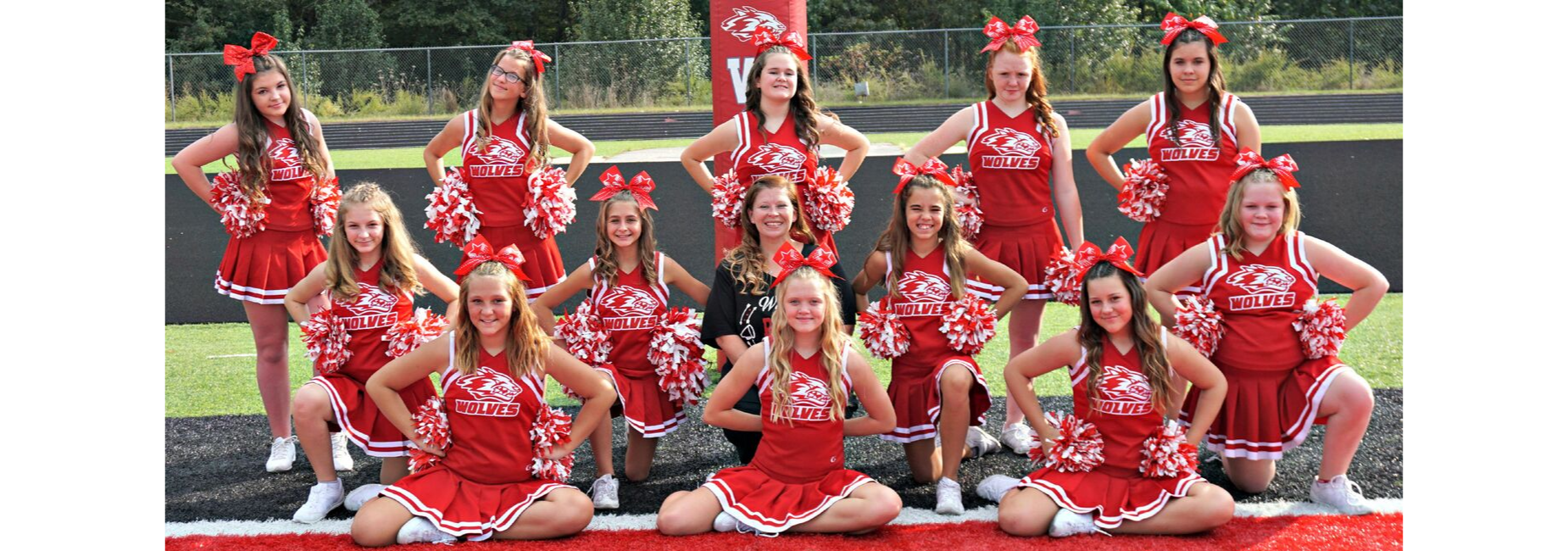 RSMS cheerleaders