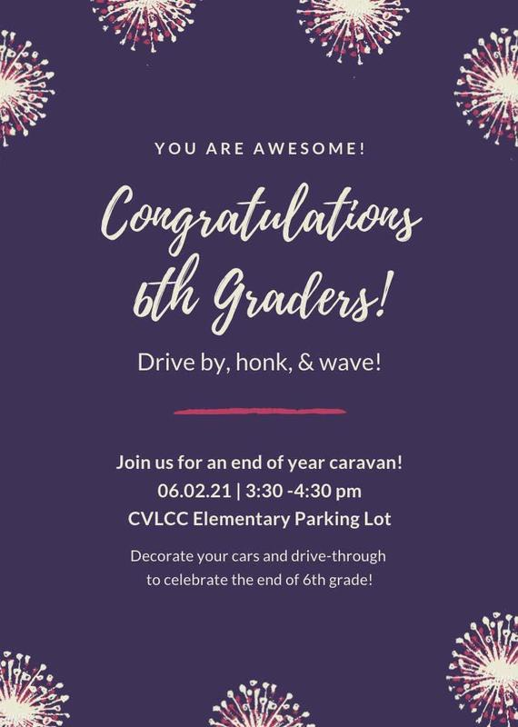 6th Grade End of the Year Caravan Featured Photo
