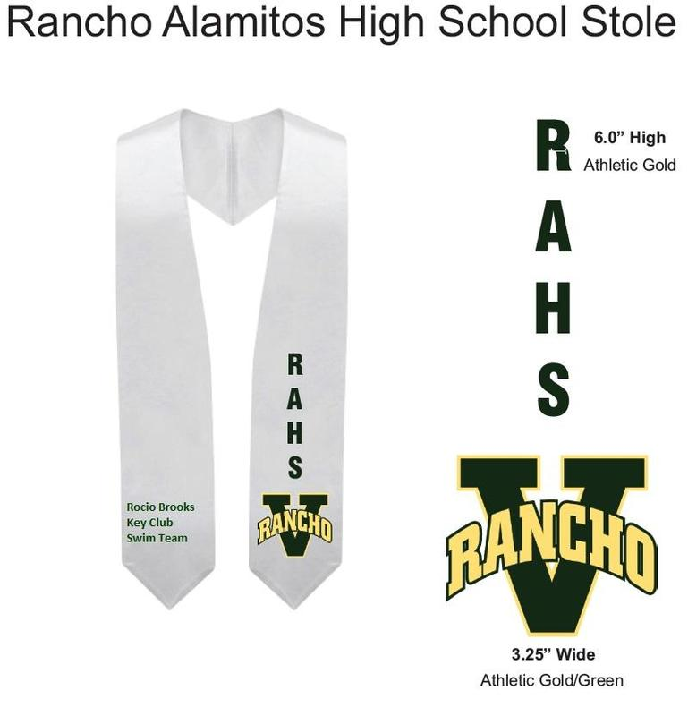 Class of 2020 RAHS Graduation Stole Featured Photo