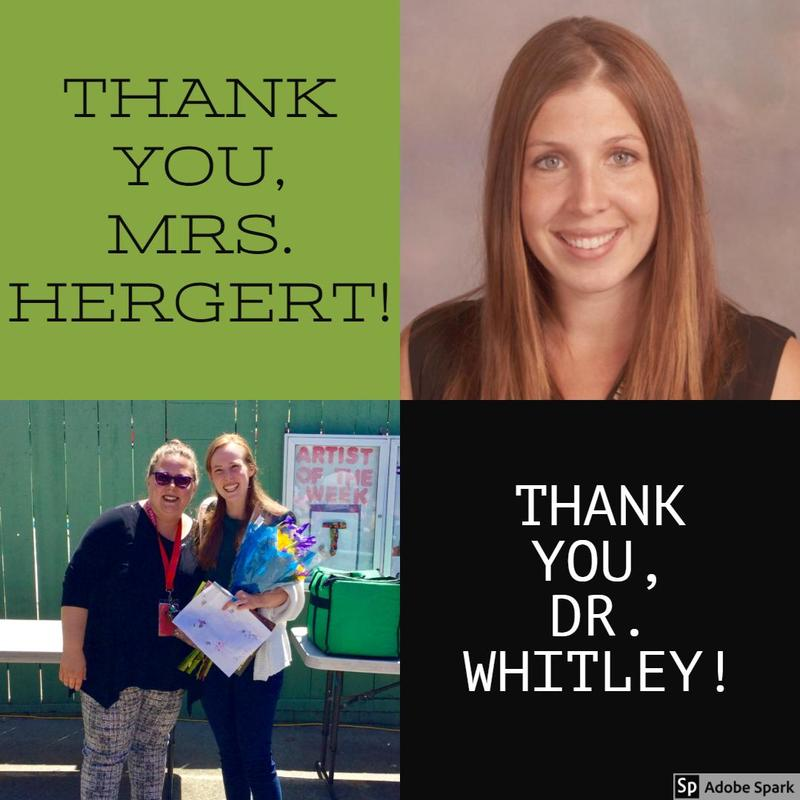 Happy Trails to Mrs. Nicole Hergert and Dr. Brennan Whitley! Thumbnail Image