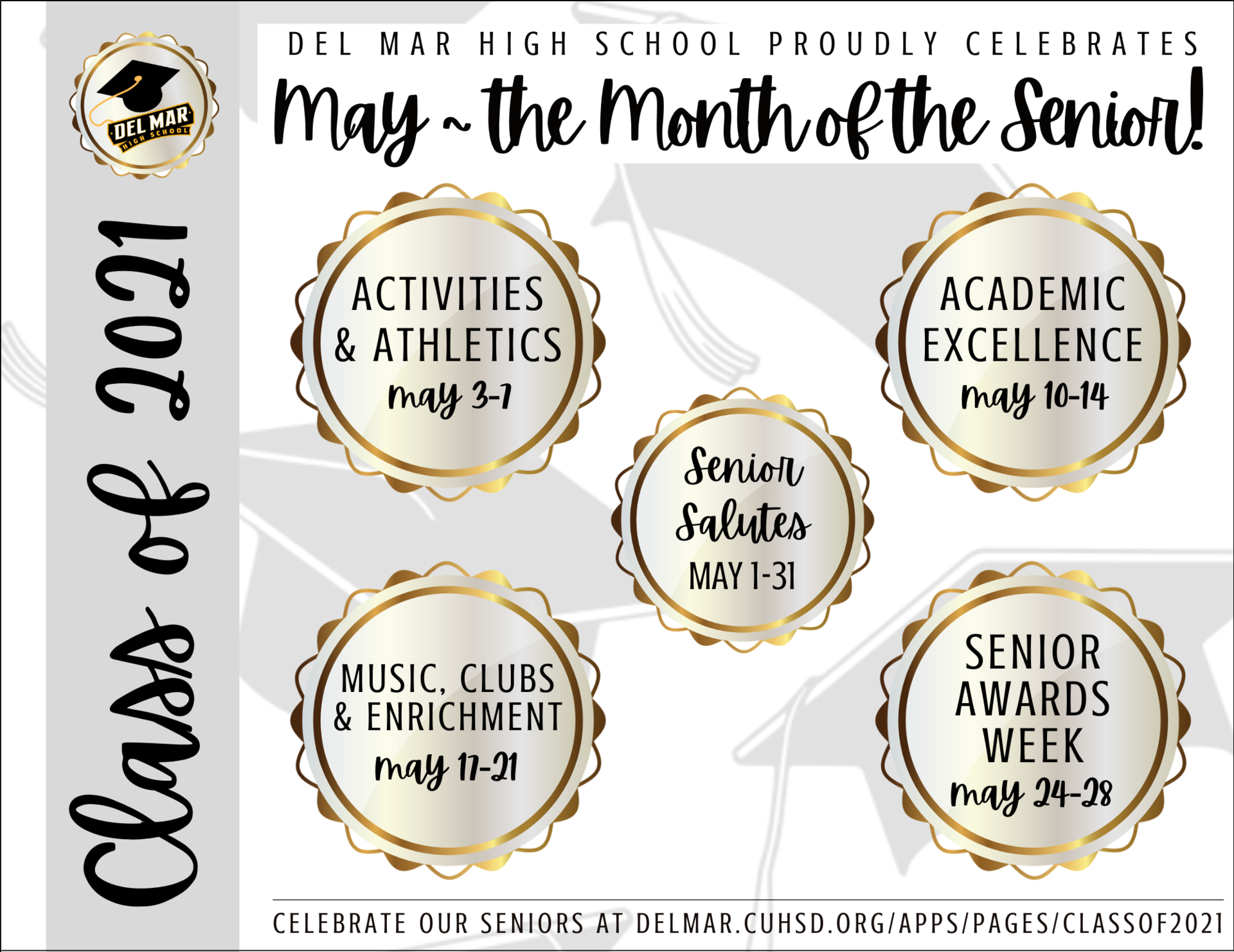 may is month of the senior