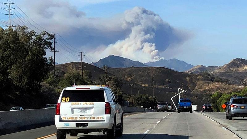 Southern California Wildfires burn in Malibu, Agoura Hills Featured Photo