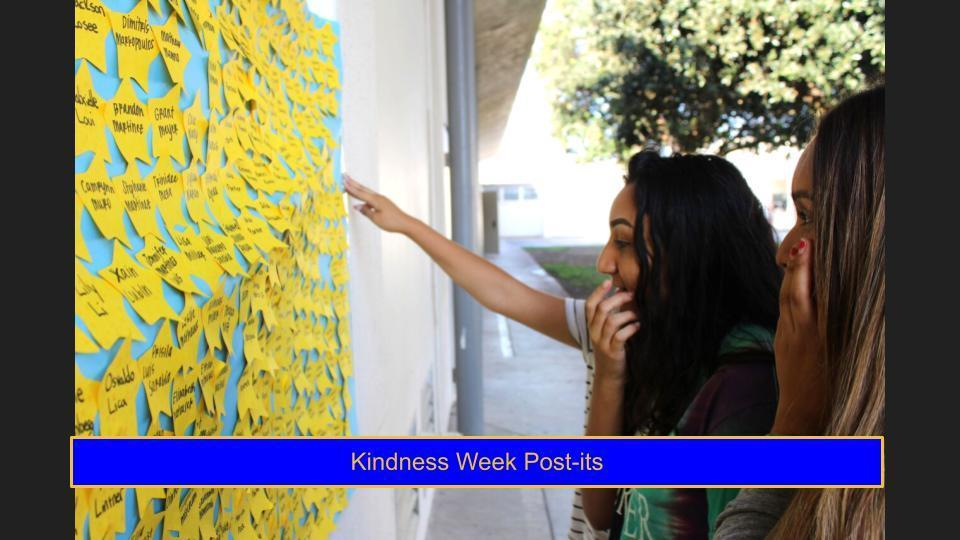 Kindness Week Post Its