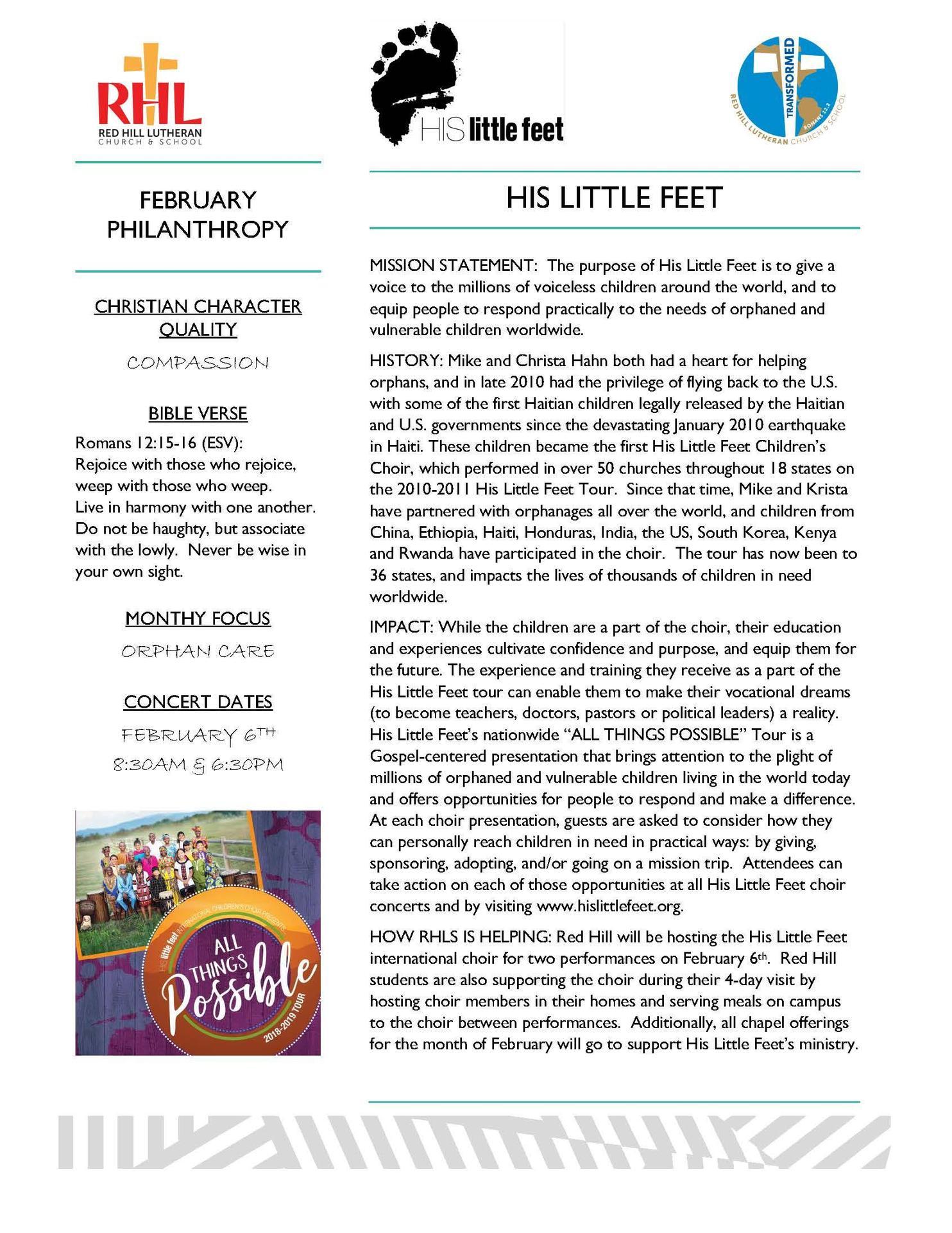 Philanthropy – Philanthropy Program – Red Hill Lutheran School