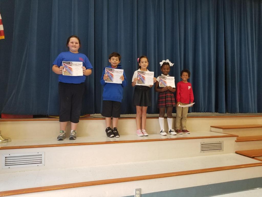 Principal's Award - 1st Term