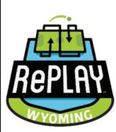 RePlay Wyoming logo