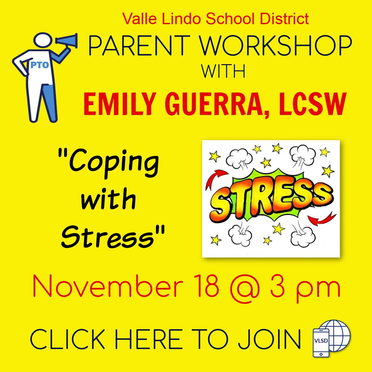 Parent workshop November