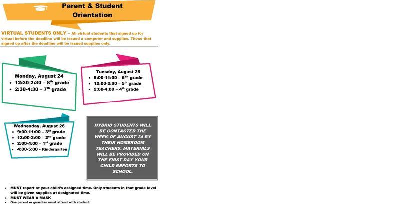 Virtual Parent/Student Orientation Thumbnail Image
