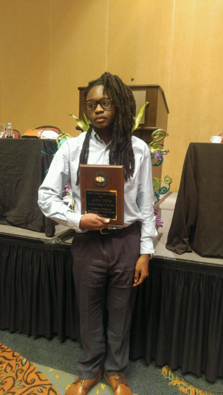 JaShon McKee - Student Worker of the Year