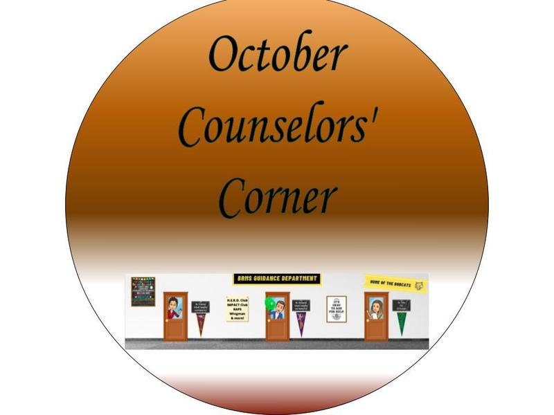 October 2021 Counselor's Corner Featured Photo