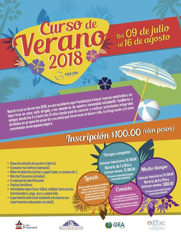 Curso de Verano 2018 Thumbnail Image