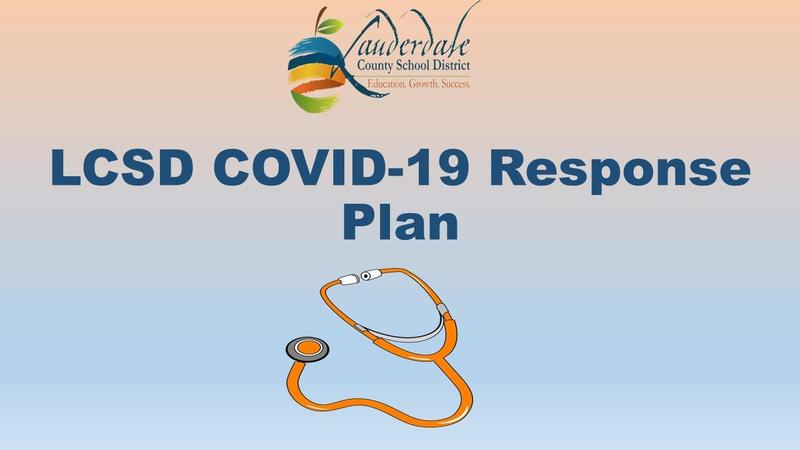 LCSD COVID-19 Response Plan Graphic