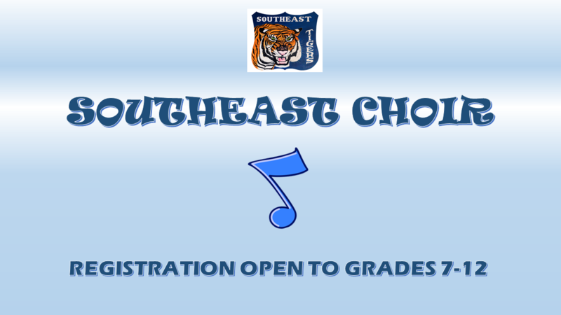 SEHS Choir Registration