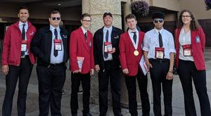 Group photo from SkillsUSA national competition.