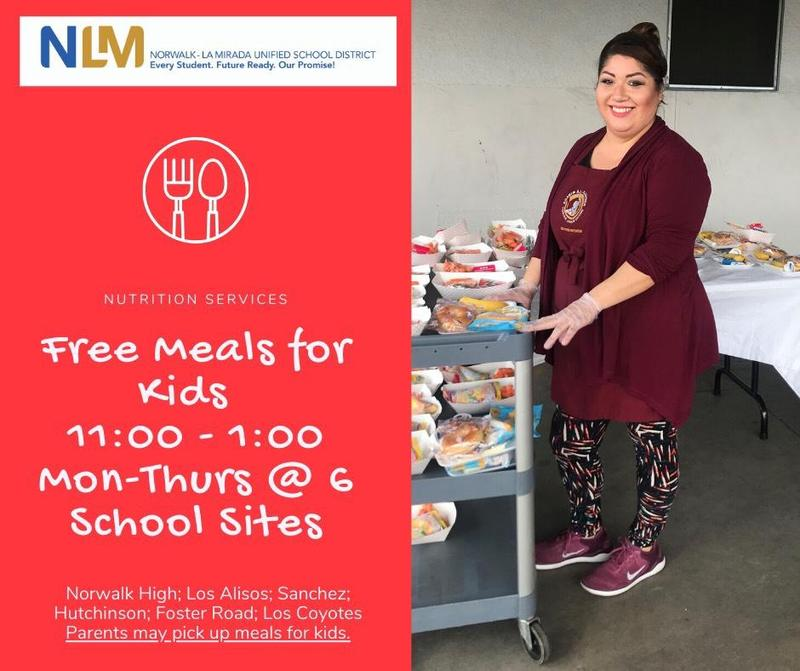 Free Meals for Kids Featured Photo