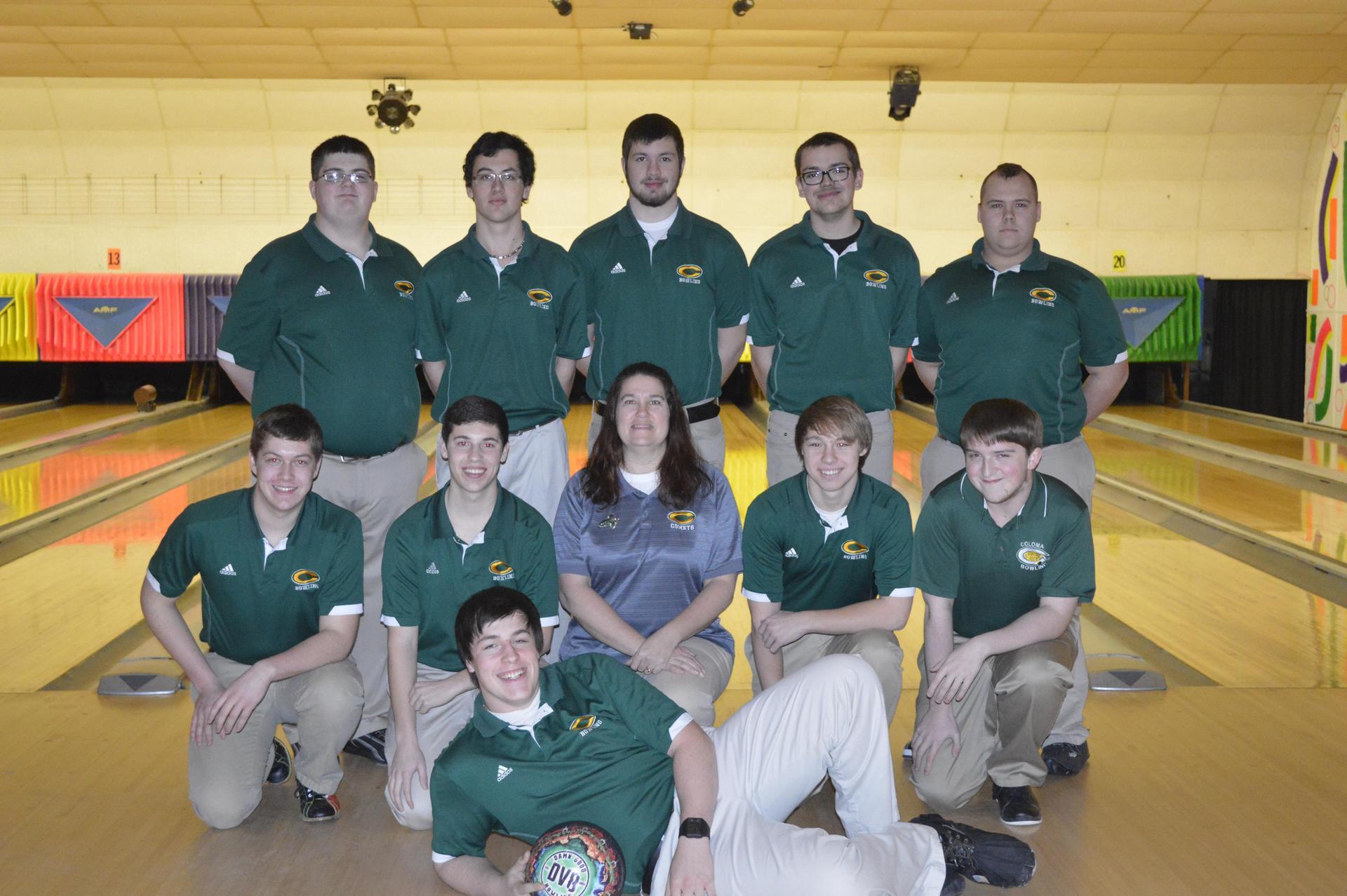 Coloma Boys Varsity Bowling Team